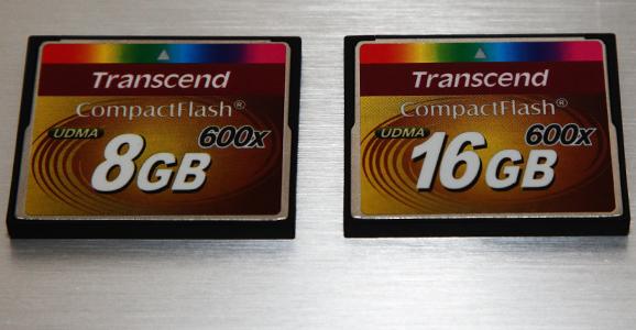 Tanscend Compact Flash 600x