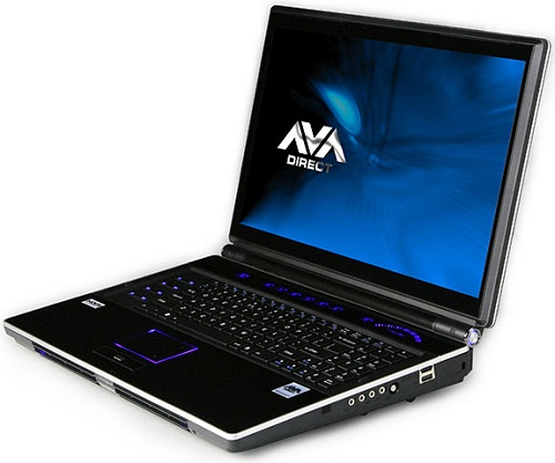 AVADirect Clevo X8100