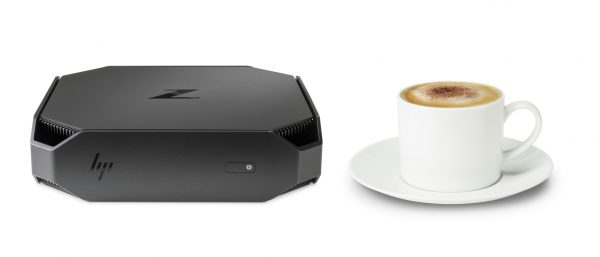 HP Z2 Mini Workstation w_coffee cup
