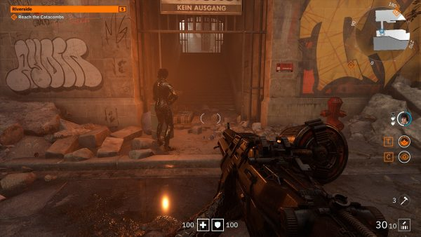 Wolfenstein Young Blood RTX On DLSS Quality