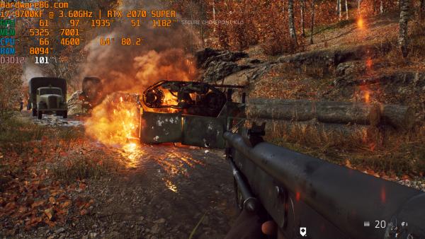 Battlegfield V RTX Low Fire