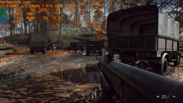 Battlefield RTX Low Truck
