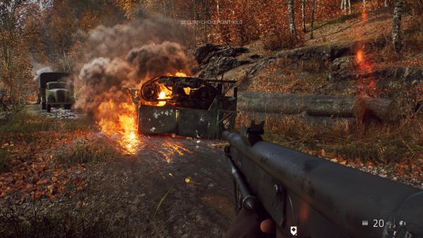 Battlegfield V RTX Medium Fire