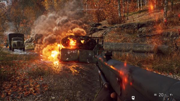Battlegfield V RTX Off Fire