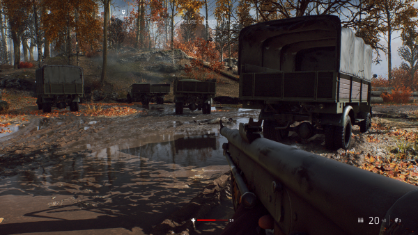 Battlefield RTX Off Truck